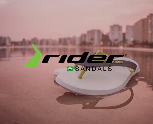 rider sandal banner