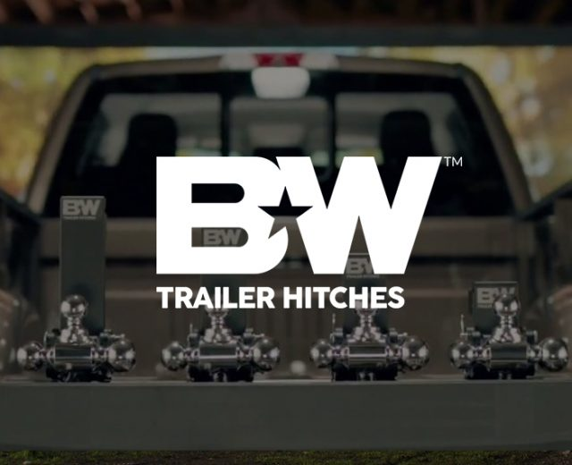 B&W Trailer Hitches banner
